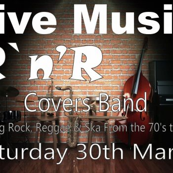 RnR Covers Band 30 March 2019